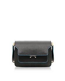 Black Saffiano Leather Mini Trunk Bag - Marni