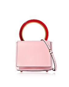 Cinder Rose Leather Pannier Bag - Marni / マルニ