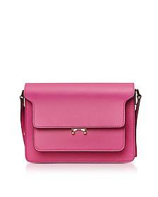 Cassis Saffiano Leather Trunk Bag - Marni