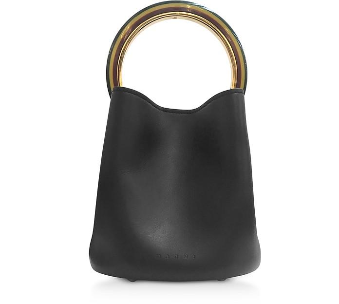 Pannier Bucket Bag w/Resin Handle - Marni