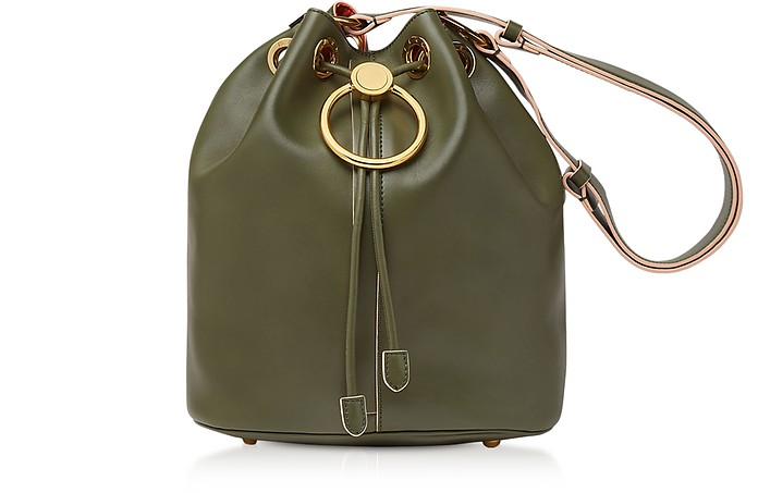 Earring Leather Drawstring Bucket bag - Marni / マルニ