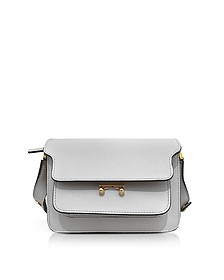 Pelican Saffiano Leather Mini Trunk Bag - Marni