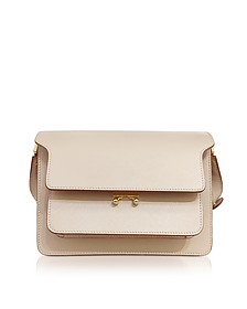 Light Camel Saffiano Leather Trunk Bag - Marni