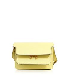 Vanilla Saffiano Leather Trunk Bag - Marni