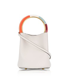 Glass Leather Pannier Bucket Bag - Marni