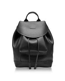 Black Leather Kit Backpack - Marni