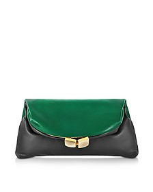 Muppet Bicolor Fold-Over Clutch