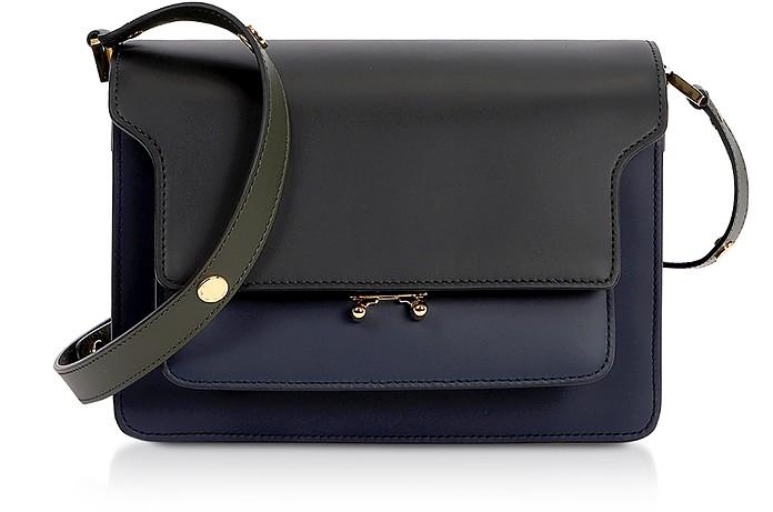 Color Block Leather Trunk Bag - Marni / マルニ