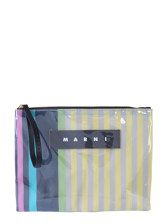 CLUTCH WITH LOGO - Marni