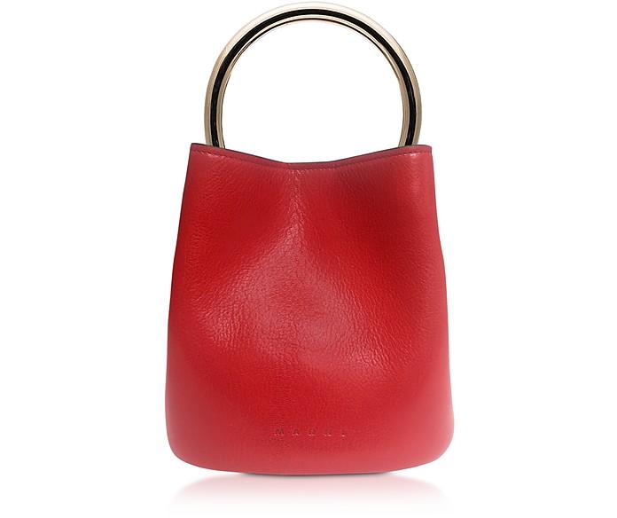 Pannier Top Handle Bag - Marni