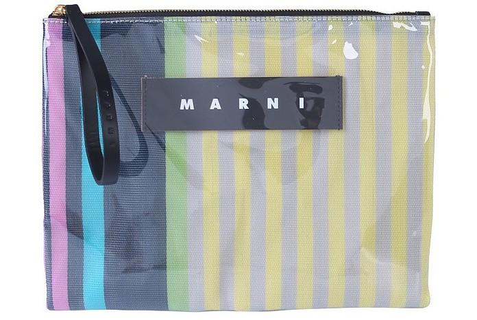 Clutch With Logo - Marni