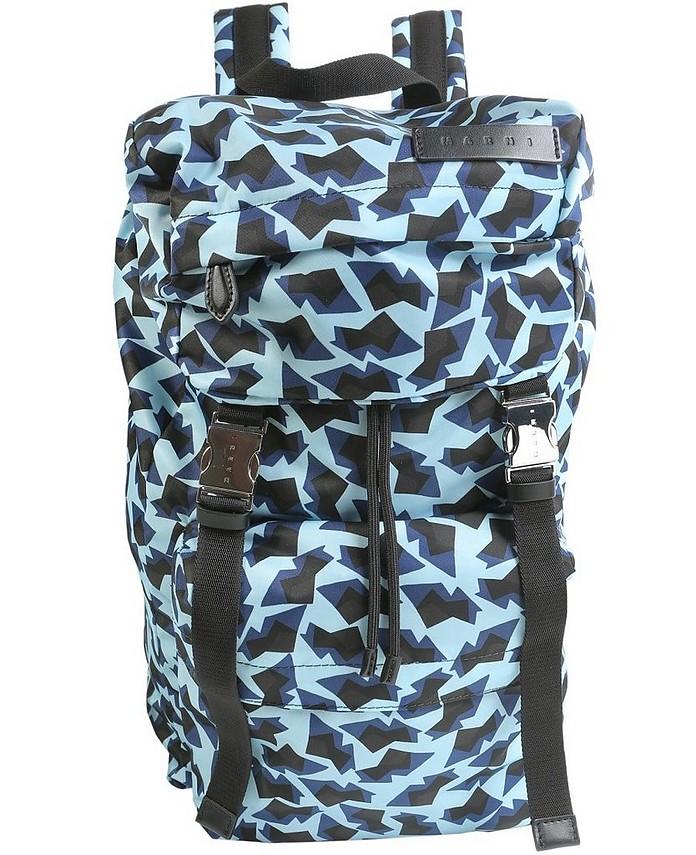 Geometric Printed Backpack - Marni