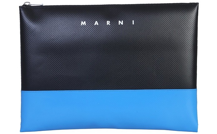 Bi-Colored Pouch With Logo - Marni / マルニ