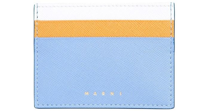 Saffiano Leather Card Holder - Marni
