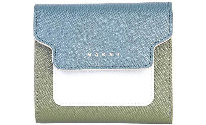Saffiano Leather Wallet - Marni