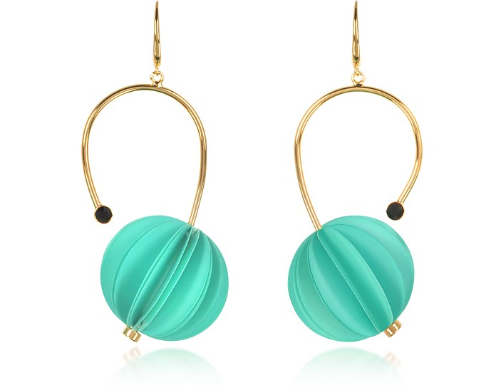 Mint Resin Earrings - Marni