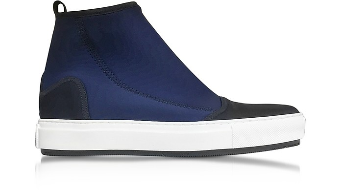 Black and Eclipse Fabric Sneakers - Marni