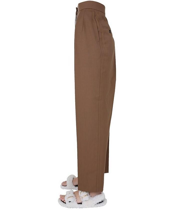 Virgin Wool Trousers - Marni