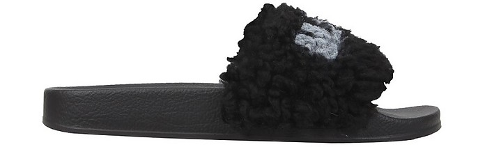 Slide Sandals With Logo - Marni