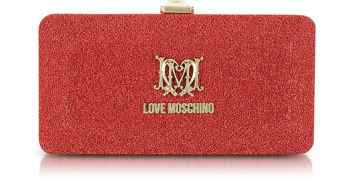 Love Moschino Signature Rectangular Clutch - Moschino