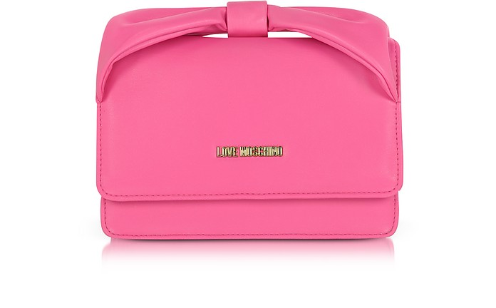Evening Eco Leather Crossbody Bag - Love Moschino