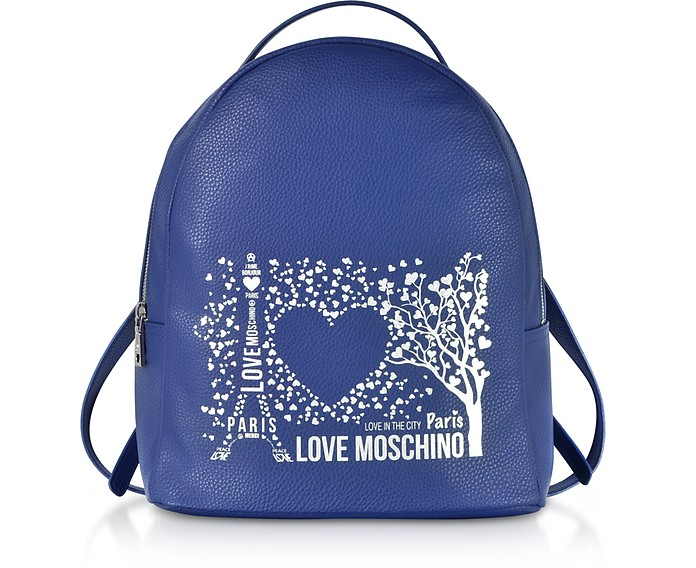 Printed City Lovers Backpack - Love Moschino