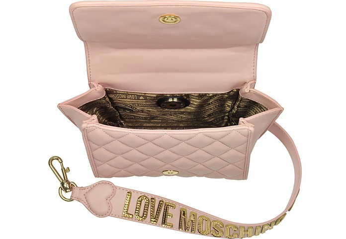 a3903b7480 Pink Superquilted Eco-Leather Small Shoulder Bag - Love Moschino. C$160.80  C$268.00 Actual transaction amount