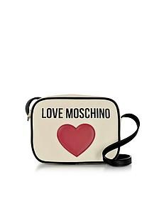 Love Moschino & Heart Cotton Camera Bag - Love Moschino