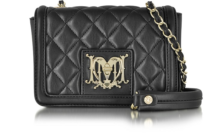 Love Moschino Quilted Small Eco Leather Crossbody Bag - Moschino