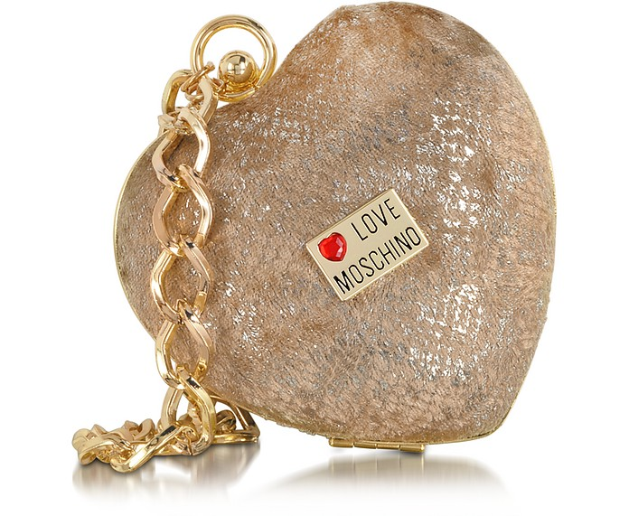 Love Moschino Heart-shape Mini Clutch - Moschino