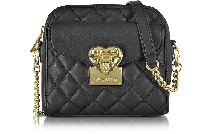 226caf79cb Love Moschino Black Quilted Small Shoulder Bag at FORZIERI Australia