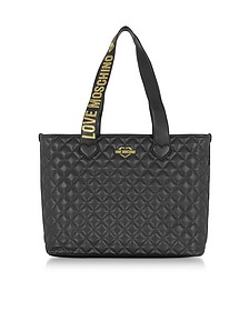 Fashion Quilted - Сумка Tote из Эко Кожи - Love Moschino
