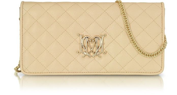 Love Moschino Small Leather Wallet Bag - Moschino