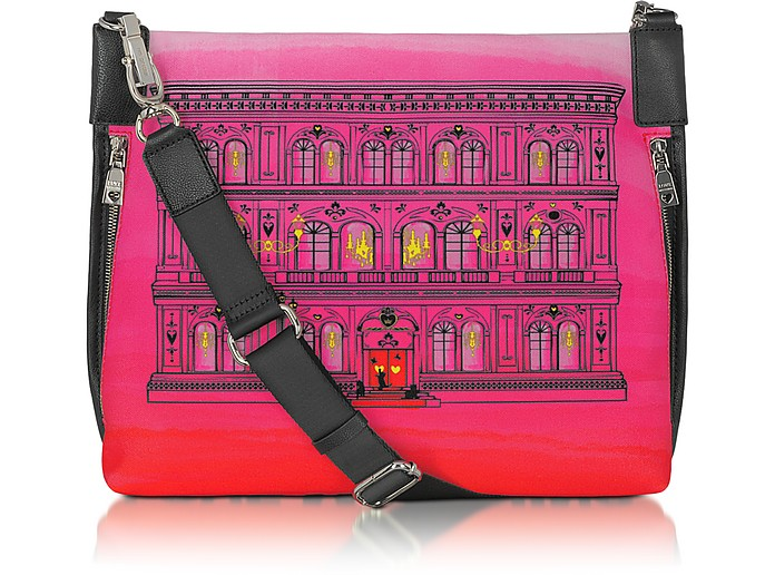 Love Moschino - Large Canvas Messenger - Moschino