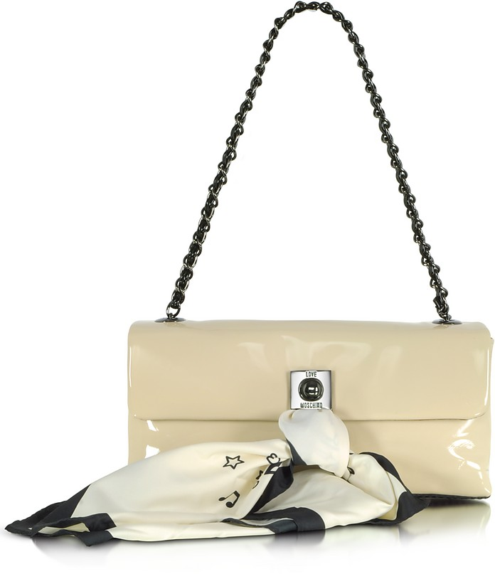 Love Moschino - Patent Shoulder Bag - Moschino