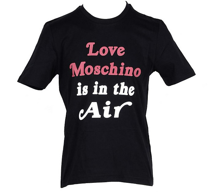 Men's Black T-Shirt - Love Moschino