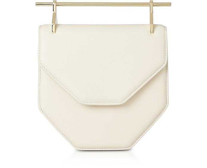 Amor Fati Ivory Leather Shoulder Bag - M2Malletier