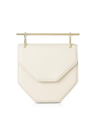 afd50b6b01 Amor Fati Ivory Leather Shoulder Bag - M2Malletier