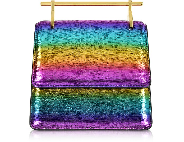 Mini Collectionneuse Metallic Rainbow Clutch Bag - M2Malletier