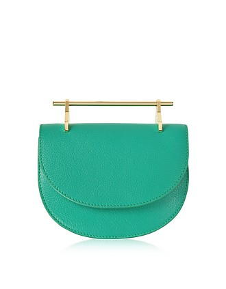 Add to wishlist. Pure Jade Lux Leather Mini Half Moon Bag - M2Malletier af88522aa1922