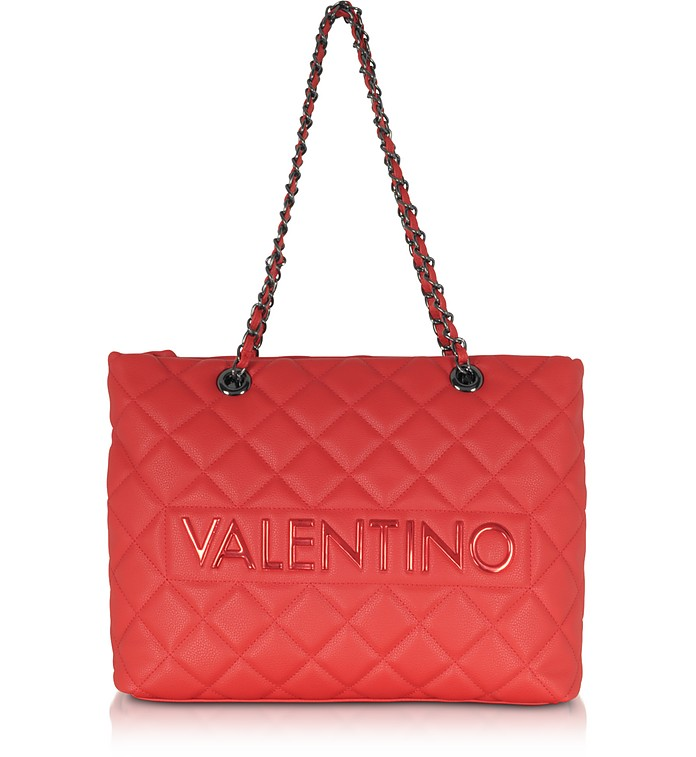 Licia Quilted Shoulder Bag - Valentino by Mario Valentino