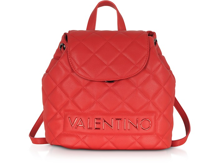 Licia Quilted Backpack - Valentino by Mario Valentino