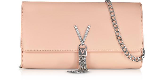 Ranma V Clutch w/Chain Strap - Valentino by Mario Valentino