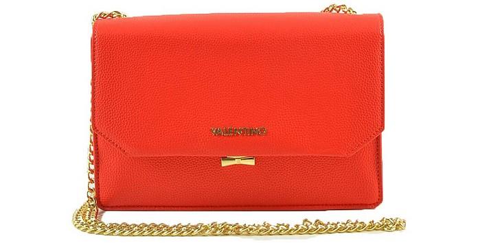 Women's Red Handbag - Valentino by Mario Valentino
