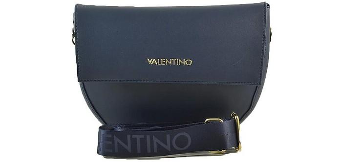 Women's Navy Blue Handbag - Valentino by Mario Valentino