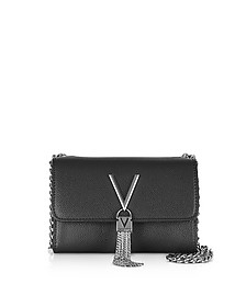 Lizard Embossed Eco Leather Divina Mini Shoulder Bag - Valentino by Mario Valentino