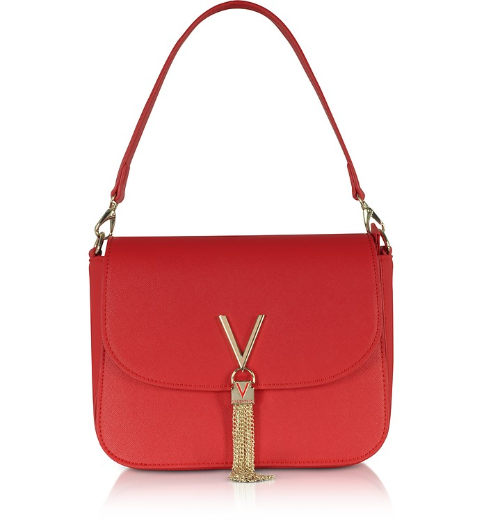 VALENTINO BY MARIO VALENTINO ECO LEATHER DIVINA TOP HANDLE BAG