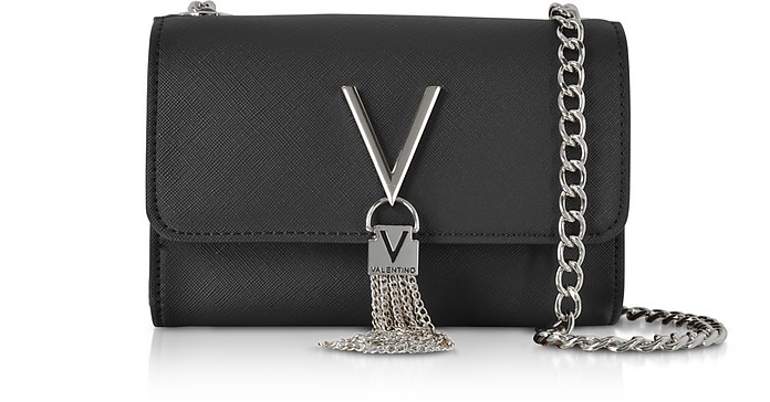 Eco Leather Divina Mini Shoulder Bag  - Valentino by Mario Valentino