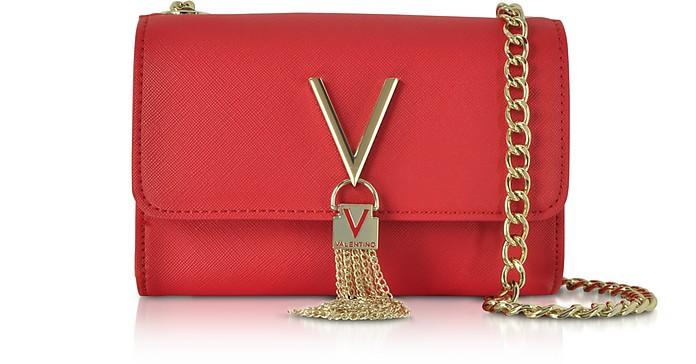 Divina Saffiano Mini Shoulder Bag - VALENTINO by Mario Valentino