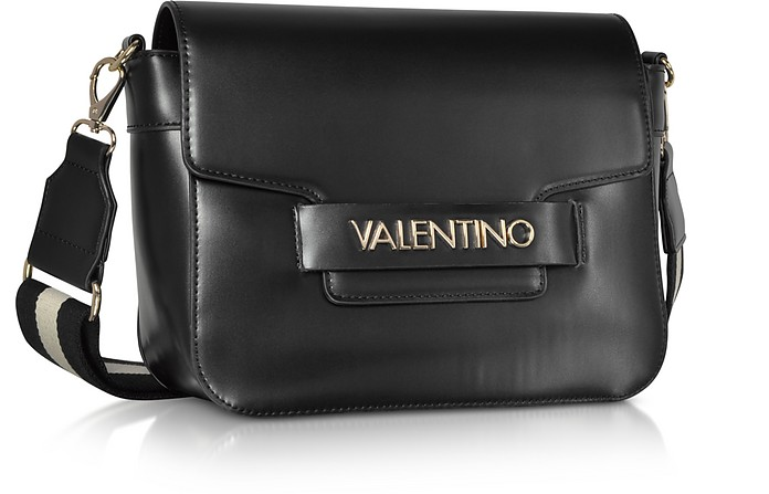 Eco Leather Blast Shoulder Bag w Canvas Strap - Valentino by Mario Valentino.  Sold Out 0cd6200f65ddf